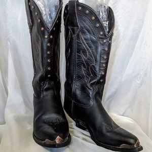 VINTAGE Harley Davidson Mid Calf Riding Boots